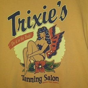 Trixies Tanning Salon Tee